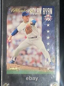 1985 All-Star Nolan Ryan Auto Fan Fest Set Autographed /500 Mint Condition COA