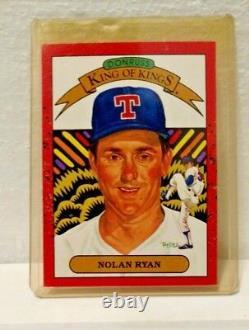 1990 DONRUSS Nolan Ryan TEXAS RANGERS Card #665 Baseball Card ERROR (#659 BACK)