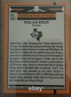 1990 Donruss Nolan Ryan #659 Baseball Card