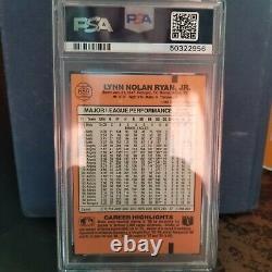 1990 Donruss Nolan Ryan #659 (hof) 5000k Psa 10 Gem Mint Perfect Baseball Card