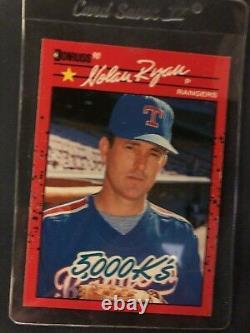 1990 Donruss Nolan Ryan Texas Rangers #659 Baseball Card