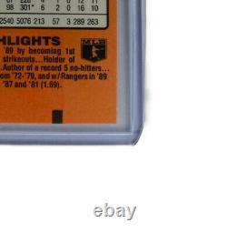 1990 NOLAN RYAN 5,000 Ks RARE Donruss Card #659 (Print Date 1989) 10 MINT COND