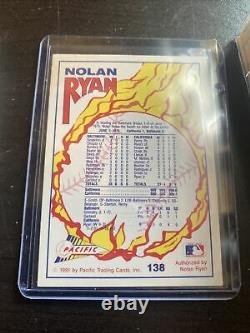 1991 Pacific Nolan Ryan Baseball Card Lot (79 Total)-NM-MT Including #138 Card