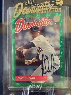 1993 Nolan Ryan Donruss Elite Dominator Auto Autograph #483/5000 Original Case