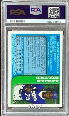 1997 Bowman Chrome #182 Adrian Beltre RC PSA 10