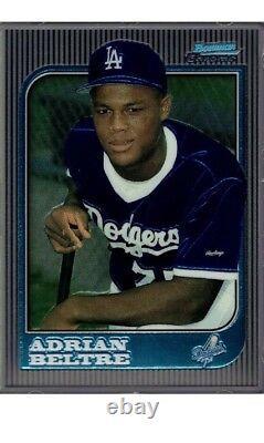 1997 Bowman Chrome Rookie Card #182 Adrian Beltre Rc Dodgers Rangers L@@k Mint