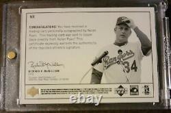 1999 Century Legends NOLAN RYAN Epic Signatures Auto SP MINT Autograph HOF MLB
