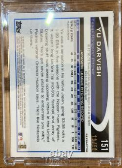 2012 Topps Chrome YU DARVISH Rookie RC GOLD Refractor #d 12/50 MINT&CENTER