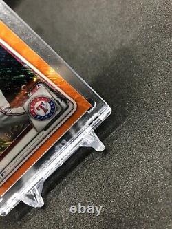 2020 Bowman Chrome Bayron Lora /25 Orange Shimmer BCP-159 SSP + Bonus 1st Bowman