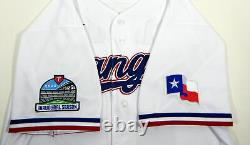 2020 Texas Rangers Mike Minor #23 Game Issued Pos Used White Jersey I S P 6449