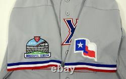 2020 Texas Rangers Willie Calhoun #5 Game Issued Grey Jersey Inaugural Season 6
