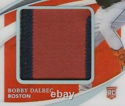 2021 Immaculate Collection BOBBY DALBEC RC RPA 4 COLOR JUMBO PATCH #'D 25/25