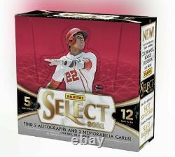 2021 Panini Select Baseball Factory Sealed Hobby Box