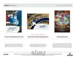 2021 Panini Select Baseball Hobby Box (12 Packs/5 Cards 2 Autos, 2 Mems)