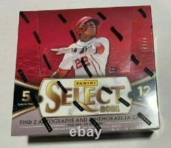 2021 Panini Select Baseball Sealed Hobby Box