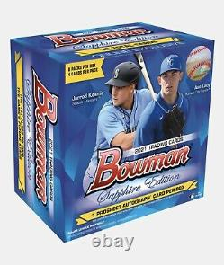 2021 Topps Bowman Sapphire Edition CONFIRMED ORDER