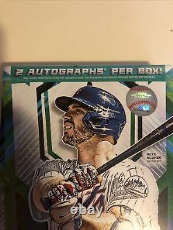 2021 Topps MLB Fire Baseball Trading Card Hobby Box FACTORY SEALED 2 Autographs