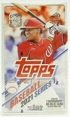 2021 Topps Series 1 Baseball Hobby Box