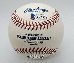 Adrian Beltre Autograph Signed Major League Baseball Romlb Beckett Auth Bas