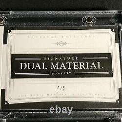 Bo Jackson / Nolan Ryan 2017 National Treasures Dual Jersey Patch Auto /5 Mlb