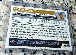 NELSON CRUZ 2005 Topps Chrome BLACK Refractor Rookie Card RC 75/250 SP 431 HRs