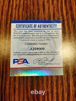 Nolan Ryan Signed Auto OAL Baseball PSA/DNA Certified Autograph