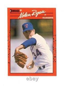 Nolan Ryan Texas Rangers 1990 Donruss #166 Baseball Card