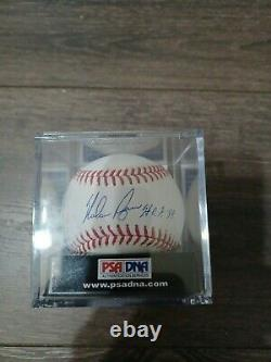 PSA 9.5 Nolan Ryan Autograph baseball. Inscribes H. O. F 99