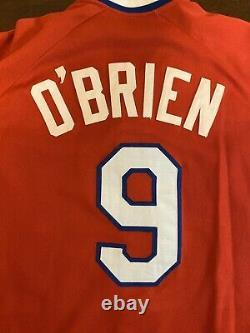 Rare Vintage 1984 Rawlings MLB Texas Rangers Pete O'Brien Baseball Jersey