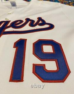 Rare Vintage Russell Athletic MLB Texas Rangers Juan Gonzalez Baseball Jersey