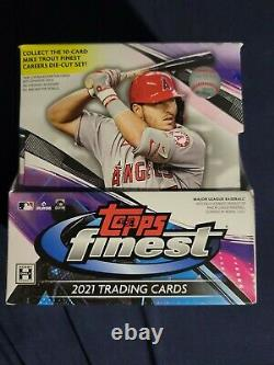 SEALED NEW Topps Finest 2021 Major League Baseball Hobby Master Box (60 Cards)