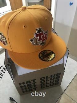 Texas Rangers 40th Anniversary RG Old Poly 7 3/4