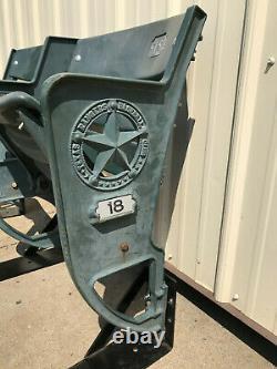 Texas Rangers seats -Globe Life Park set of 2 Riser Mount, Star Logo